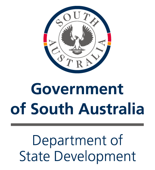 Government of South Australia Department of State Development logo
