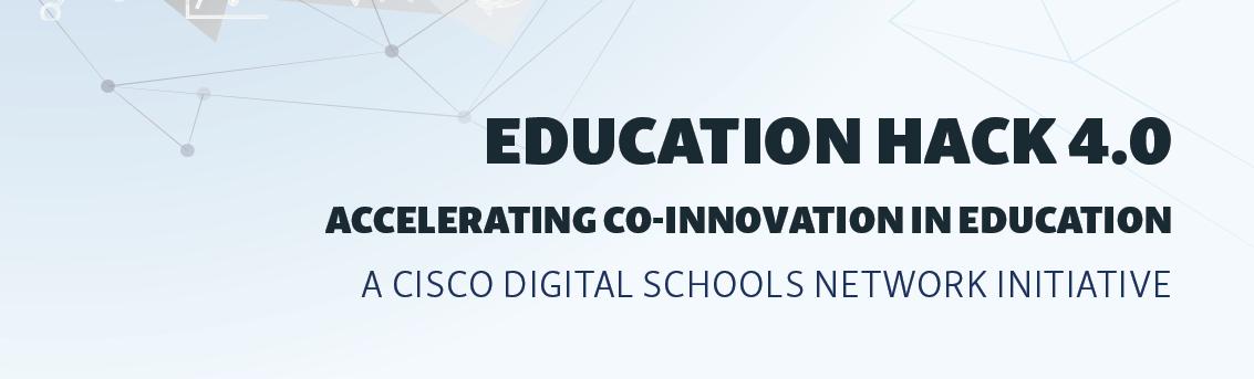 Education Hack 4.0 Banner