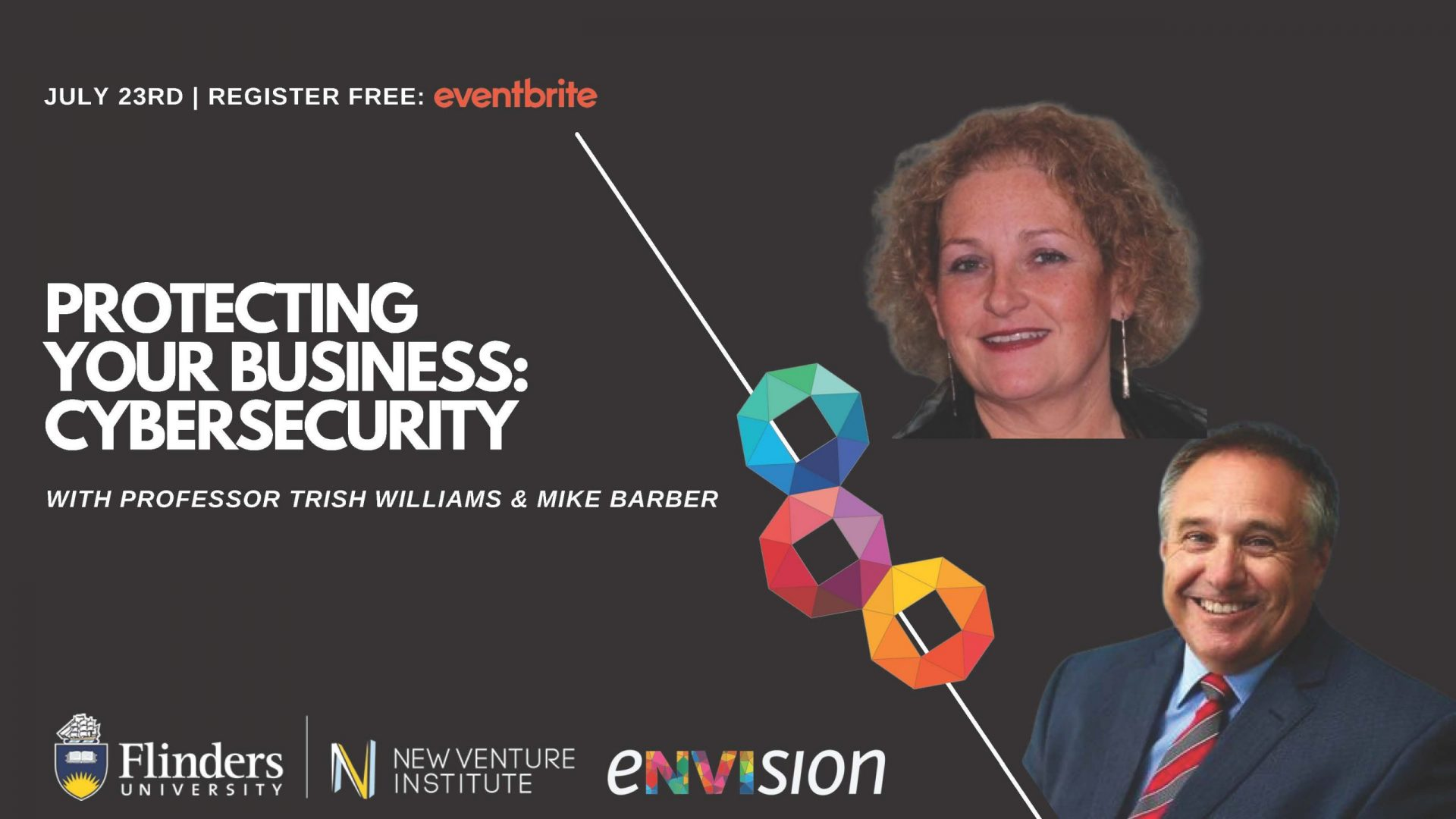 eNVIsion Event - Protecting your business - cybersecurity PRESENTATION SLIDE